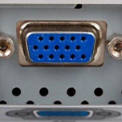 Для успешного подключения проектора к ноутбуку необходимо иметь разъем VGA!
